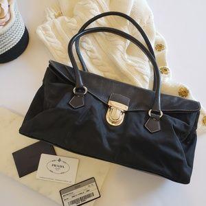 Prada | Authentic Prada Tessuto + Nappa Black Bag